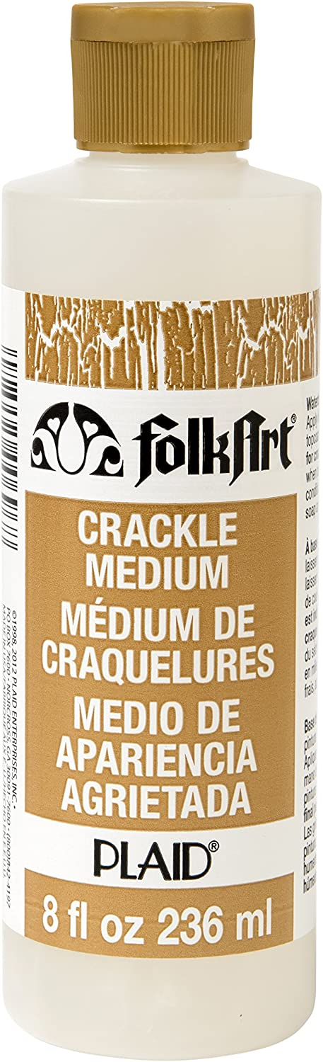 FolkArt Medium (8 Ounce), 696 Crackle