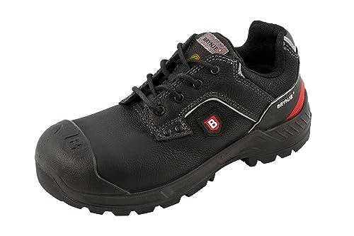 brynje Robusto Calzado de Seguridad S3 Negro - Negro (Negro), 39EU