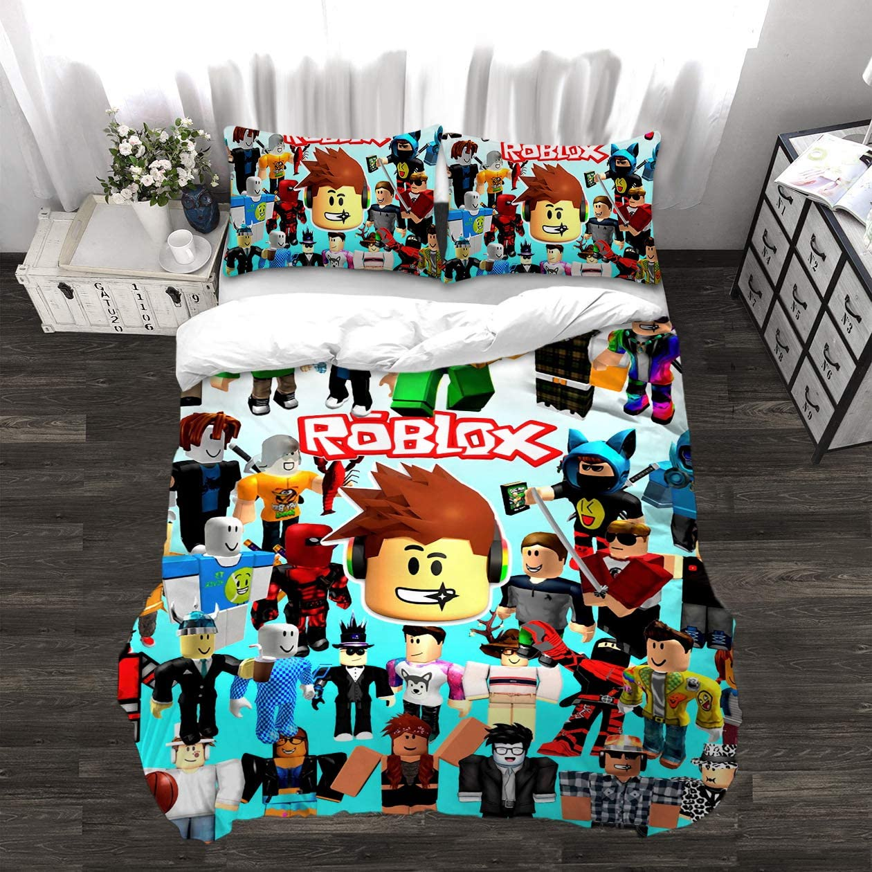 bedding 3 piece twin bed sets 3d print cartoon quilt cover large 3 piece bedding set soft and breathable comforter cover