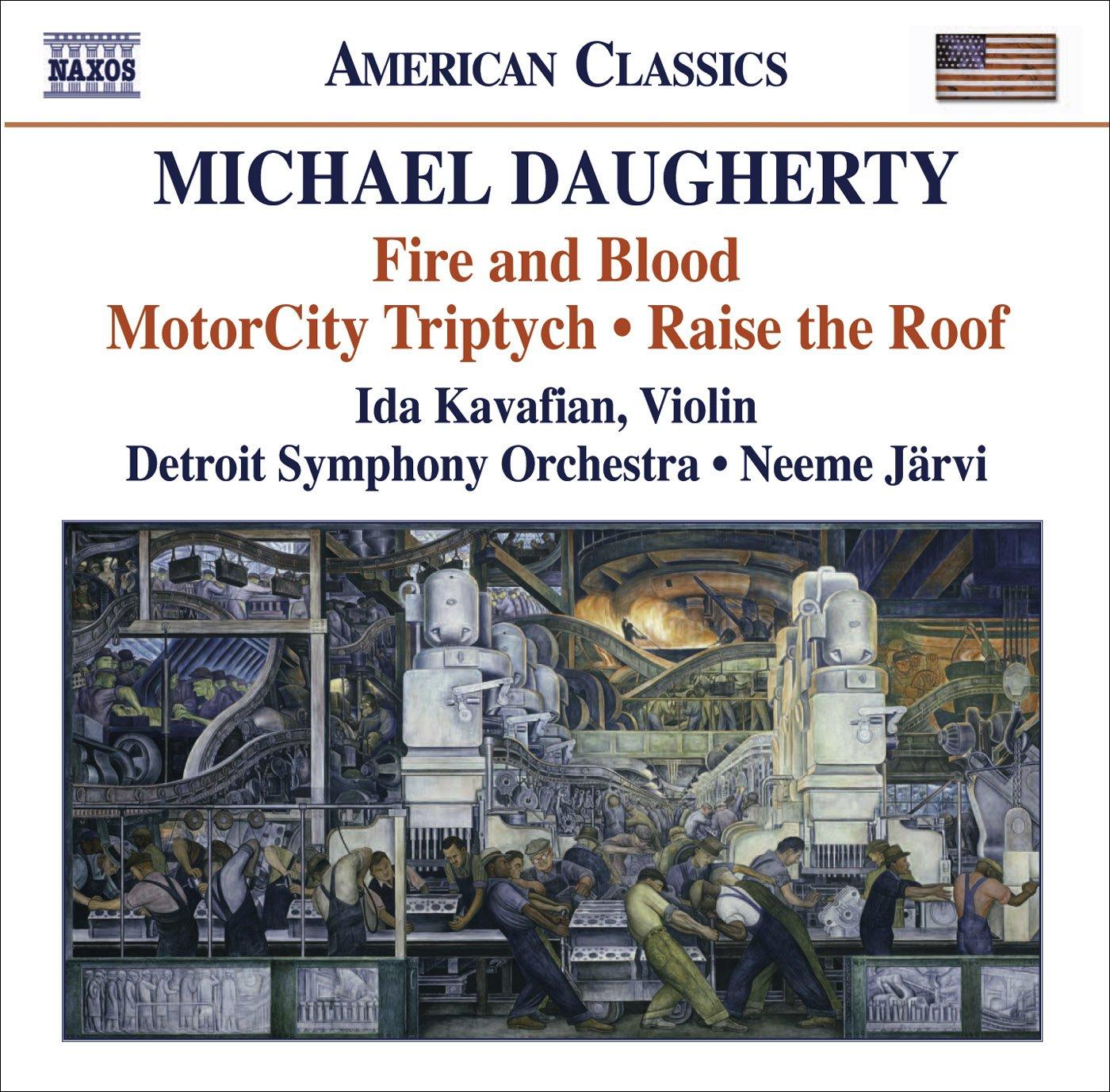 michael daugherty neeme jarvi detroit symphony orchestra ida