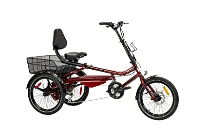 "000f7f80f8e Trivel AZTECA Model Tricycle for adults - Scooter Trike - 20"" wheels -  Fully Assembled"