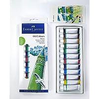 Faber-Castell 5188169502 Yağlı Boya, 12 ml tüp, 12 Renk