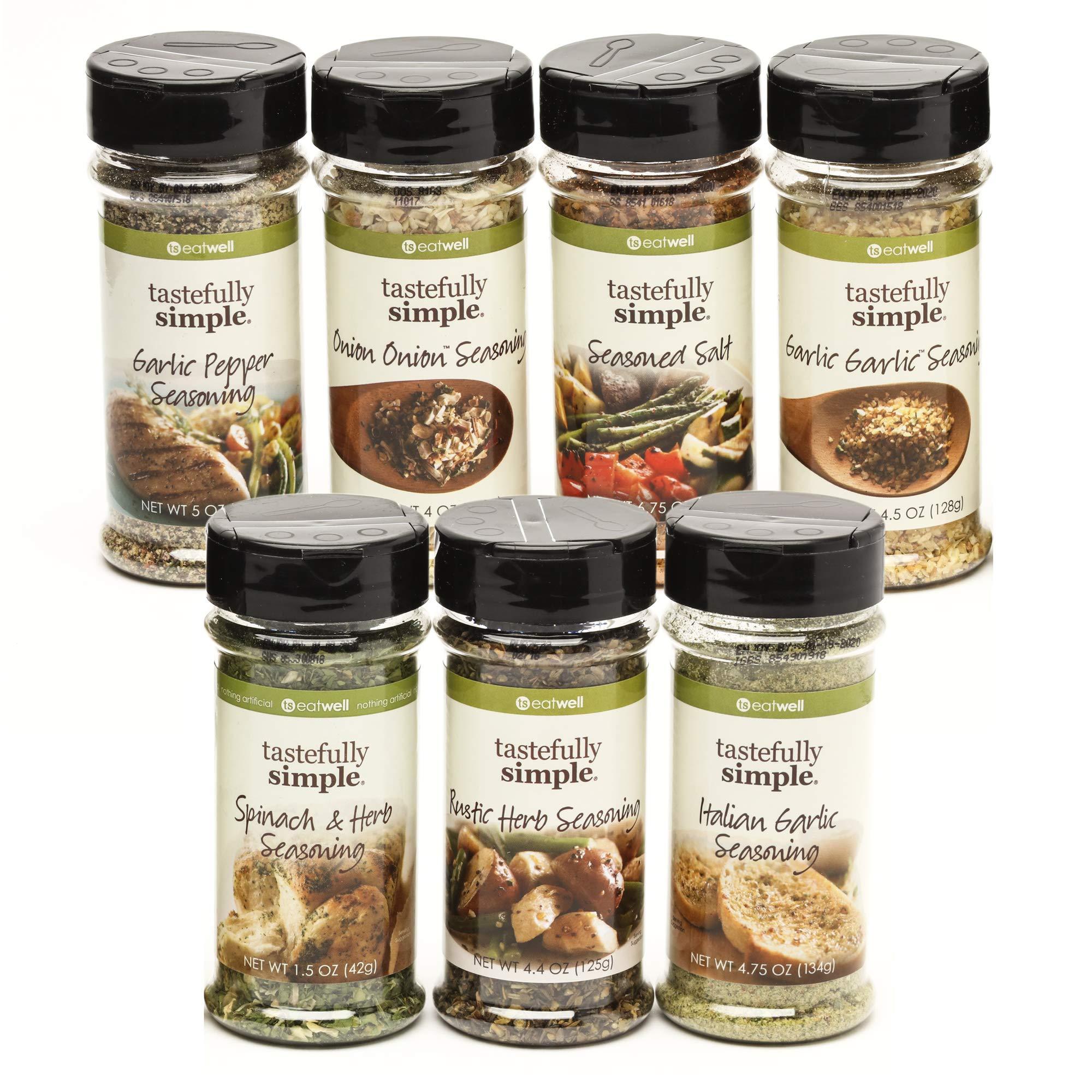 Tastefully Simple Super Seasoning Pack - 7 Pack Ultimate Seasoning Set by Tastefully Simple (Image #9)