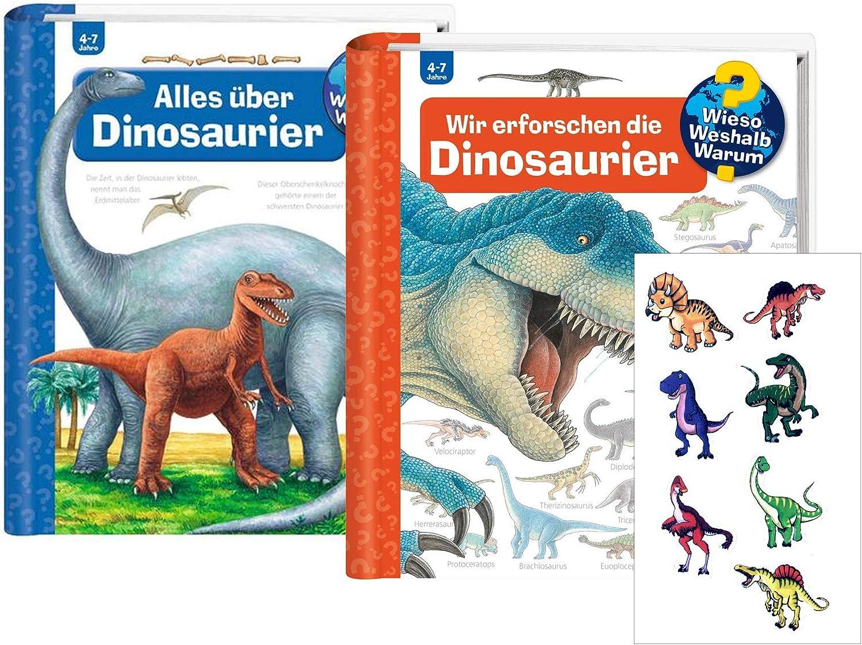 Ravensburger - Juego de libros de dinosaurios (en alemán): Amazon.es: Juguetes y juegos