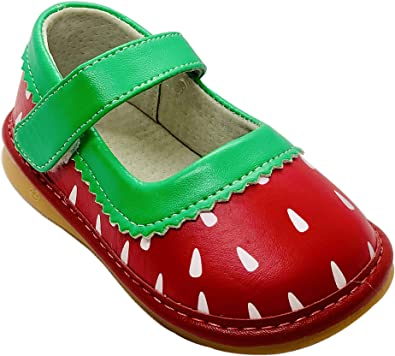 Salini Strawberry Squeaky Shoes