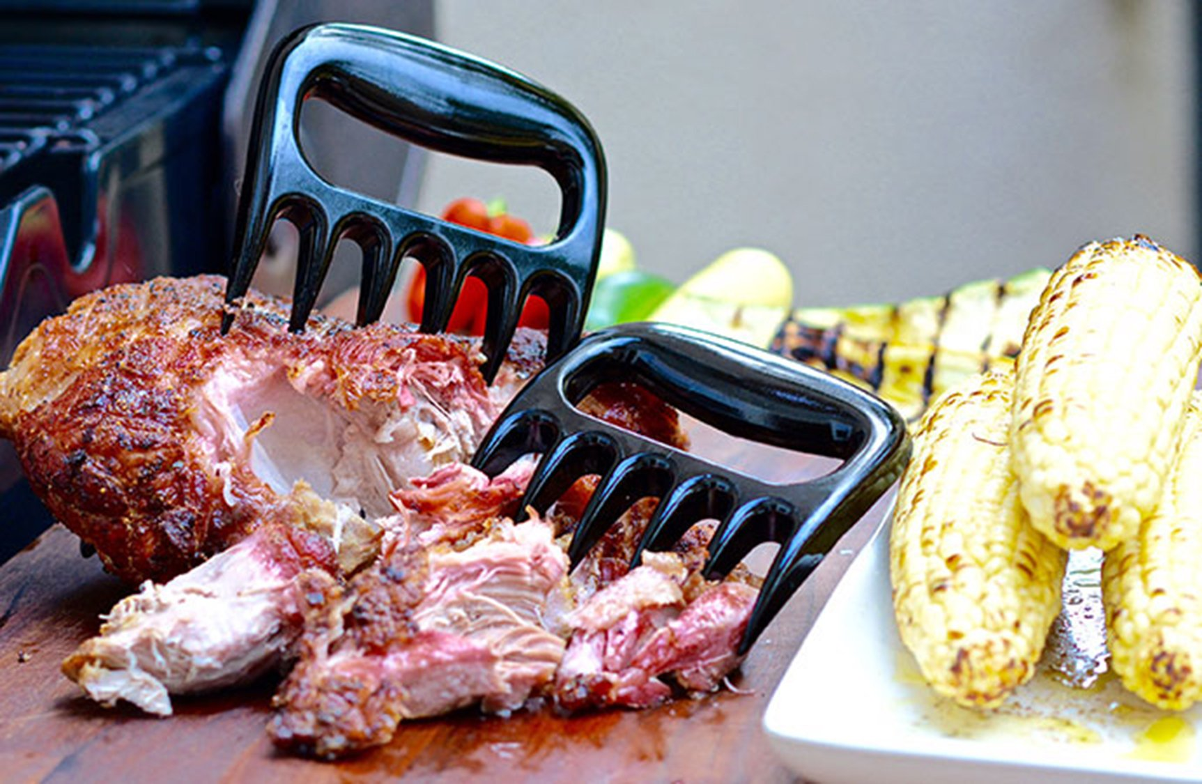 MEAT CLAWS Pulled Pork Shredder - For Perfectly Shredded Meat, These Are The Bear Claws You Need - Best Bear Claws Meat Shredder For BBQ, Smoker, Grill - Shred Your Meat, Don't Burn Your Hands!(Set of by Eohak (Image #6)