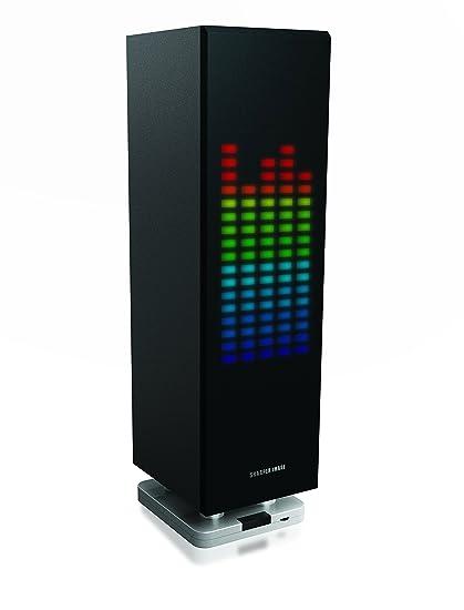 Amazoncom Sharper Image Sbt1003bk Bluetooth Speaker With Lights