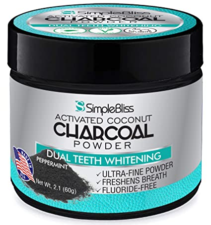 Review Teeth Whitening Activated Charcoal
