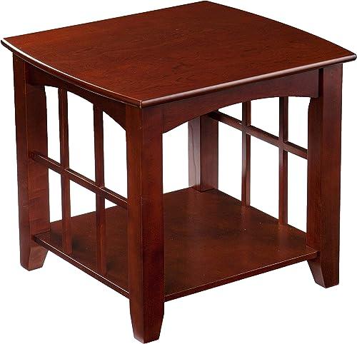 SEI Furniture Coppermine End Table