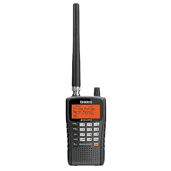 amazon com uniden bcd325p2 handheld trunktracker v scanner 25 000 rh amazon com