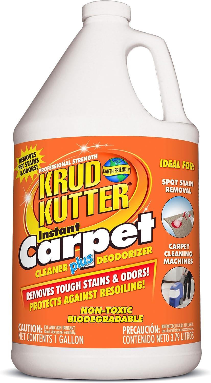 KRUD KUTTER CR012 Carpet Cleaner/Stain Remover, 1-Gallon