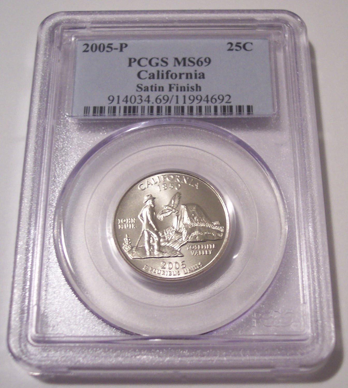2005 P Satin Finish California State Quarter Choice Uncirculated US Mint