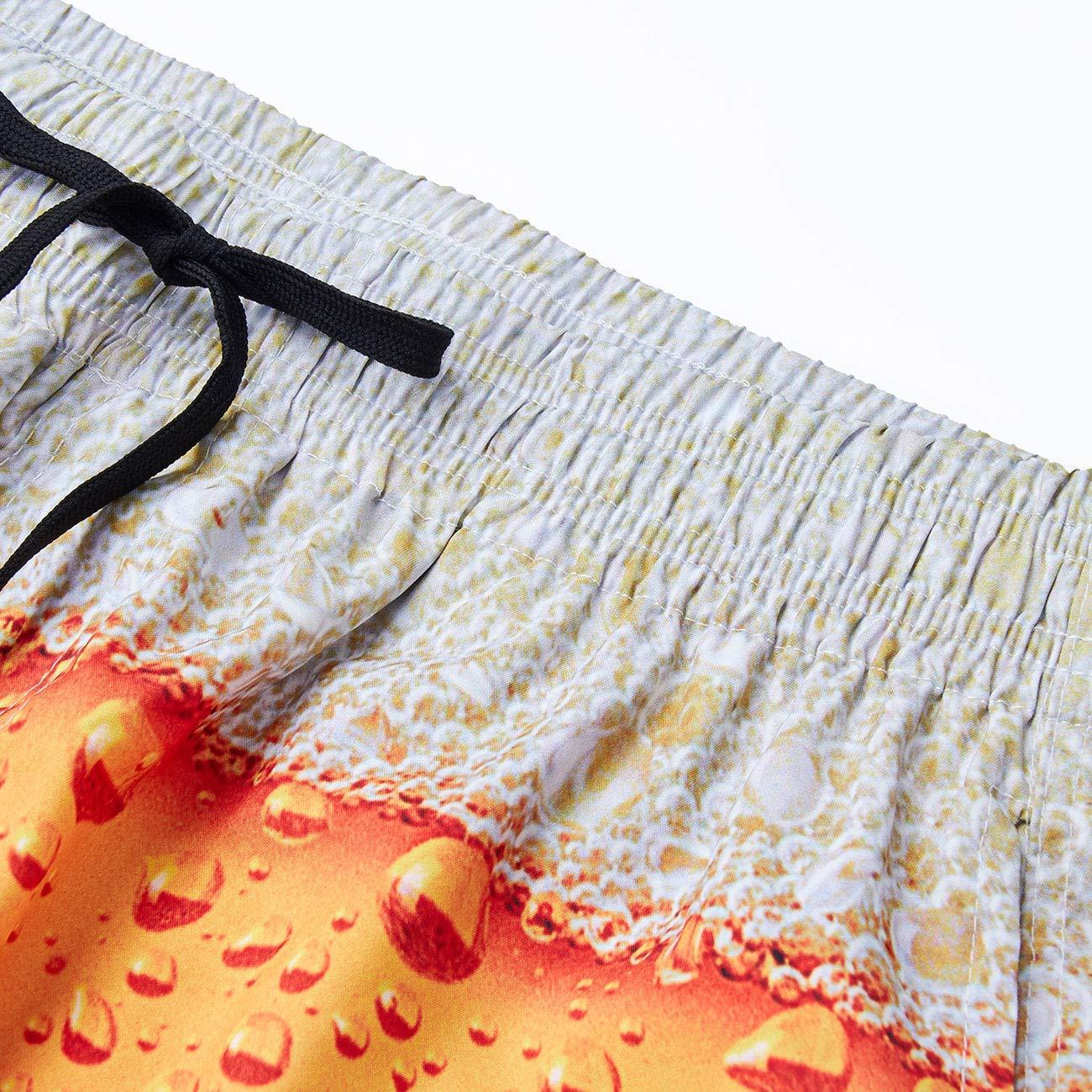 RAISEVERN Hombres Beach Cortocircuitos del Verano Trabajo Deportes Frescos Impreso Pantalones Cortos Pantalones Pantalones para Beer Festival
