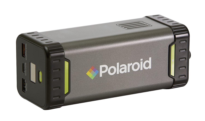 Polaroid PS100 Bloc dalimentation 84 Wh, Prise AC/DC Mobile, Puissance de Sortie 220 V 80 W, Rechargeable (Solaire): Amazon.fr: High-tech