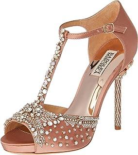 d93619a21e1 Badgley Mischka Women s Samra Heeled Sandal  Buy Online at Low ...