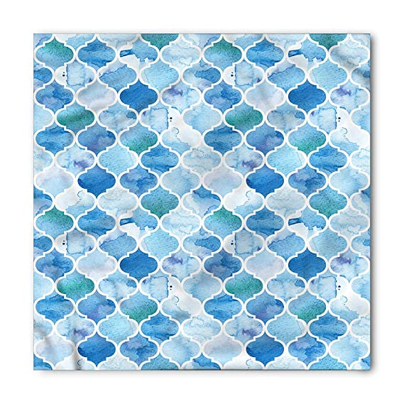 Soefipok Pañuelo marroquí, patrón de mosaico árabe, cabeza y ...