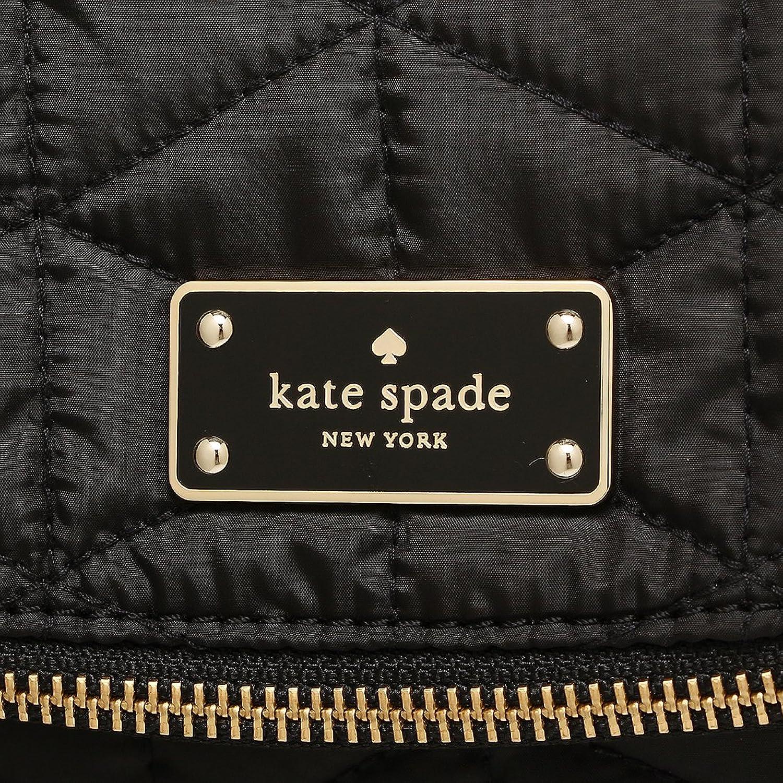 ケイトスペード KATE SPADE WKRU4662 AVENUE QUILTED MILLIE 2WAYショルダーバッグ ブラック ポリエステル キルティング スナップ式フラップ開閉