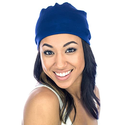 76f2850b70a Image Unavailable. Image not available for. Color  Grace Eleyae  Slap Satin-Lined  Sleep Cap