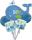 Ahoy Baby Boy Baby Shower Balloon Bouquet