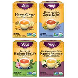 Yogi Tea - Iced Teas - 4 Pack, 64 Tea Bags