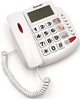 topcom sologic t101  Topcom Sologic T101 Telefono con Grandi Tasti, Nero 211279 TS-6650