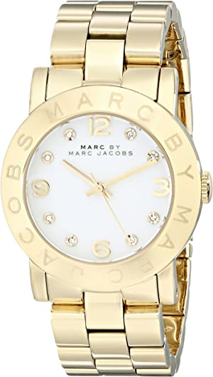 Marc by Marc Jacobs Women's MBM3056 Amy Gold Watch