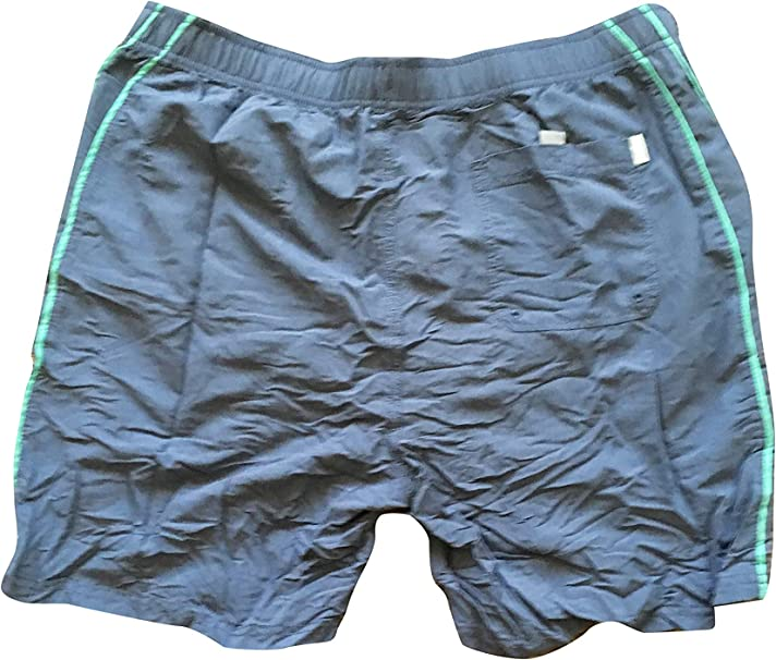 ZORITO Mens Swim Trunks Quick Dry Summer Holiday Beach Shorts with Mesh Lining Pink Blue Mosaic Beachwear