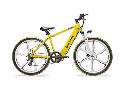 a916ce89877 Buy Being Human BH27 E-Cycle (Yellow) Online at Low Prices in India ...
