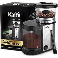 Kaffe KF8020 Molinillo de café eléctrico de acero inoxidable, capacidad de 4 onzas con botón de encendido y apagado…