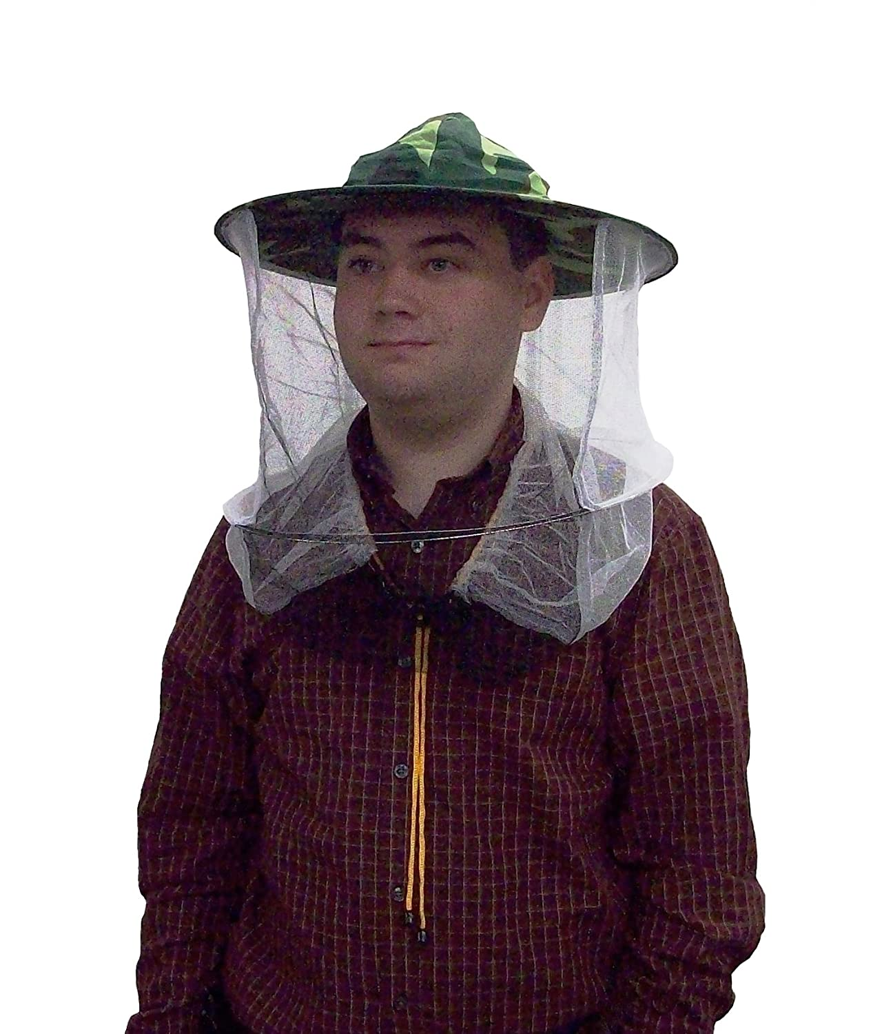 New Camo   Camouflage Beekeeper Beekeeping Hat with Veil Mosquito Head Net  by VIVO (BEE-V107C)  Amazon.in  Industrial   Scientific 60d9f5f2deb5
