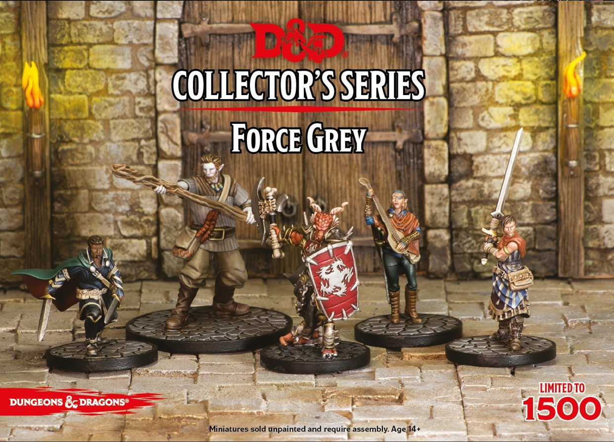 Dungeons & Dragons - Force Grey (5 Figures)