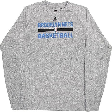 06bd25c15 Earl Clark Shirt - Brooklyn Nets 2014-2015#55 Practice Long Sleeve ...