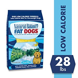 Natural Balance Fat Dogs Low-Calorie Dry Dog Food