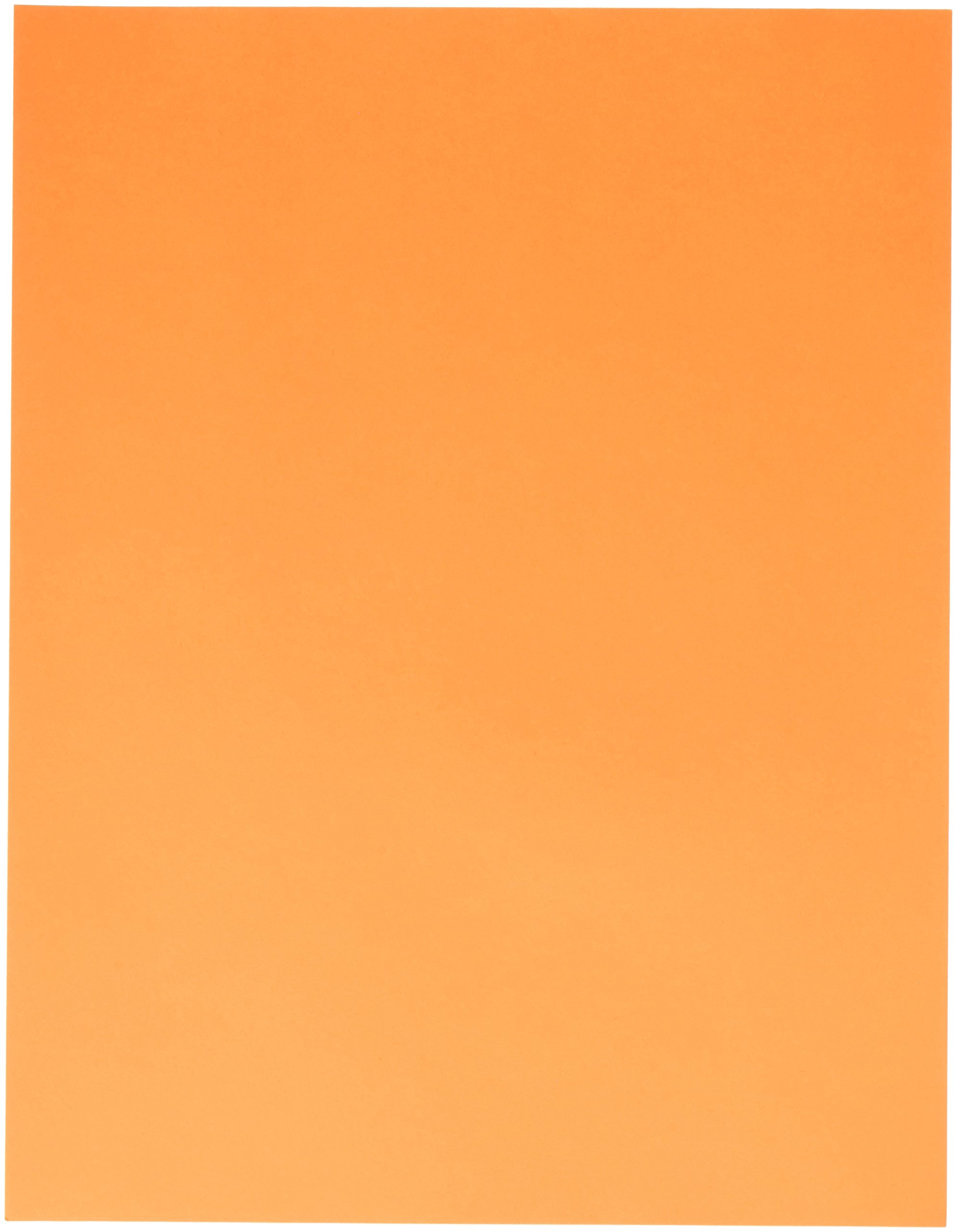 Exact 26721 Domtar Exact Color Copy Paper, 8-1/2'' x 11'' Size, 20 lb, 2.25'' Height, 8.5'' Width, 11'' Length, Bright Orange (Pack of 500)