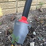 Radius Garden 16011 Root Slayer Trowel, Red