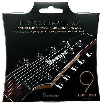 Ibanez IEGS9 - Juego cuerdas para guitarra eléctrica: Amazon.es: Instrumentos musicales
