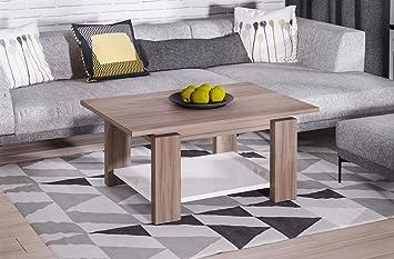 Endo Couchtisch Leon Wohnzimmertisch Tisch Ausziehbar Erweiterbar Tisch  Wohnzimmer // Wildeiche