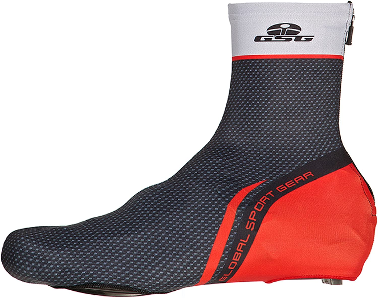 GSG Bassano - Men´s Shoe Covers - Lycra - Red