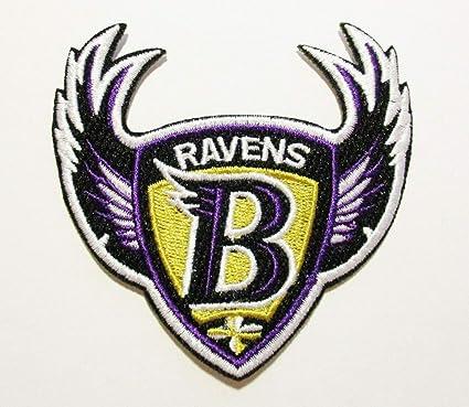 a57e68597573fd Amazon.com: NFL Baltimore Ravens Embroidered Patch 3