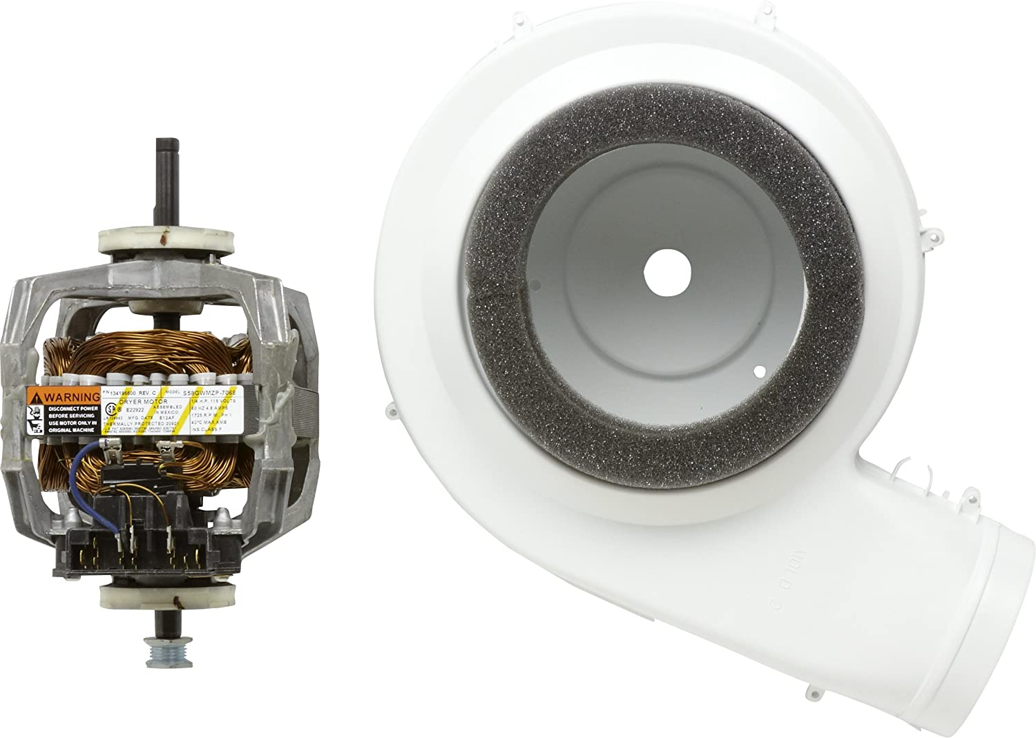 Frigidaire 5303937189 Motor and Blower