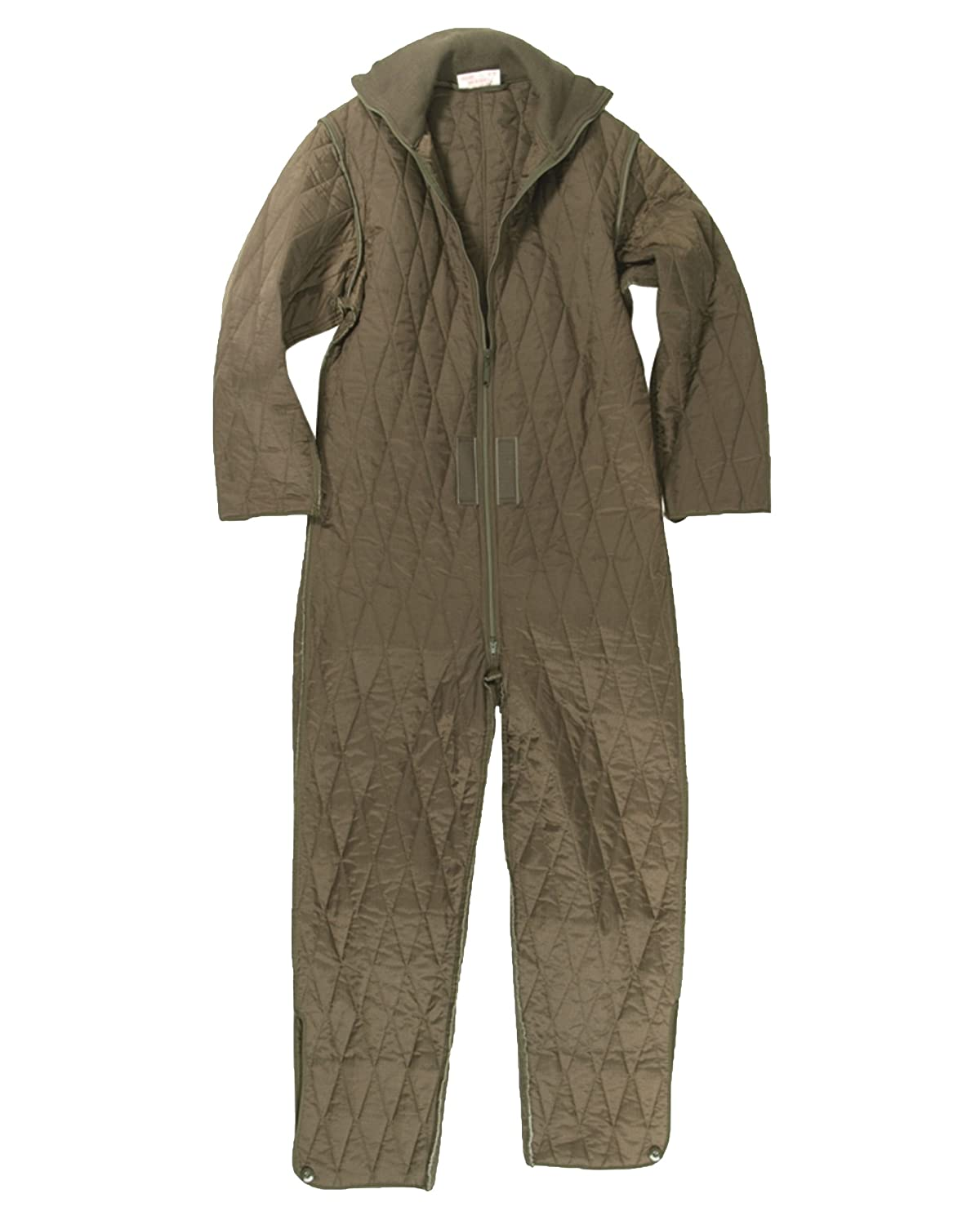 0c59cbea706 Genuine German Army Issue Quilted Overall Coverall Combi Tanker Undersuit  GRADE1