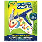 Crayola Air Marker Sprayer Set, Marker Art Tool, Spray Art, Airbrush Stencil Kit, Gift for Boys and Girls, Kids, Ages 5, 6,7  and Up, Holiday Toys, Arts and Crafts