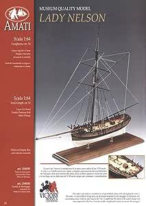 Amati Wooden Ship Kit - Lady Nelson