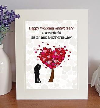 Schwester Und Schwager Hochzeit Hochzeitstag Geschenk