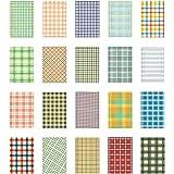 HIGHROCK 140 PCS Films Sticker For FujiFilm Instax Mini 8 7s 25 50s 90,7 Patterns in 1