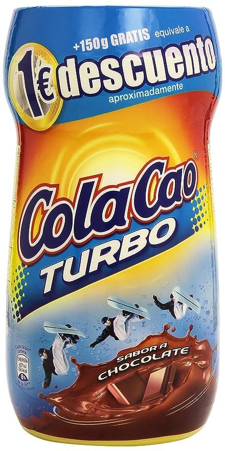 Cola Cao Turbo Bebida con Sabor a Chocolate - 750 g