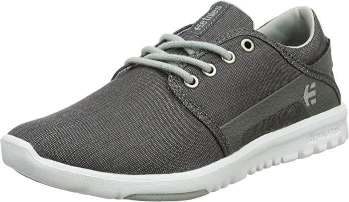 Etnies Scout Sneakers Herren Schwarz Grau (Charcoal/Heather)