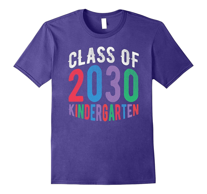 Class of 2030 Kindergarten - Student or Teacher Gift T-Shirt-CL