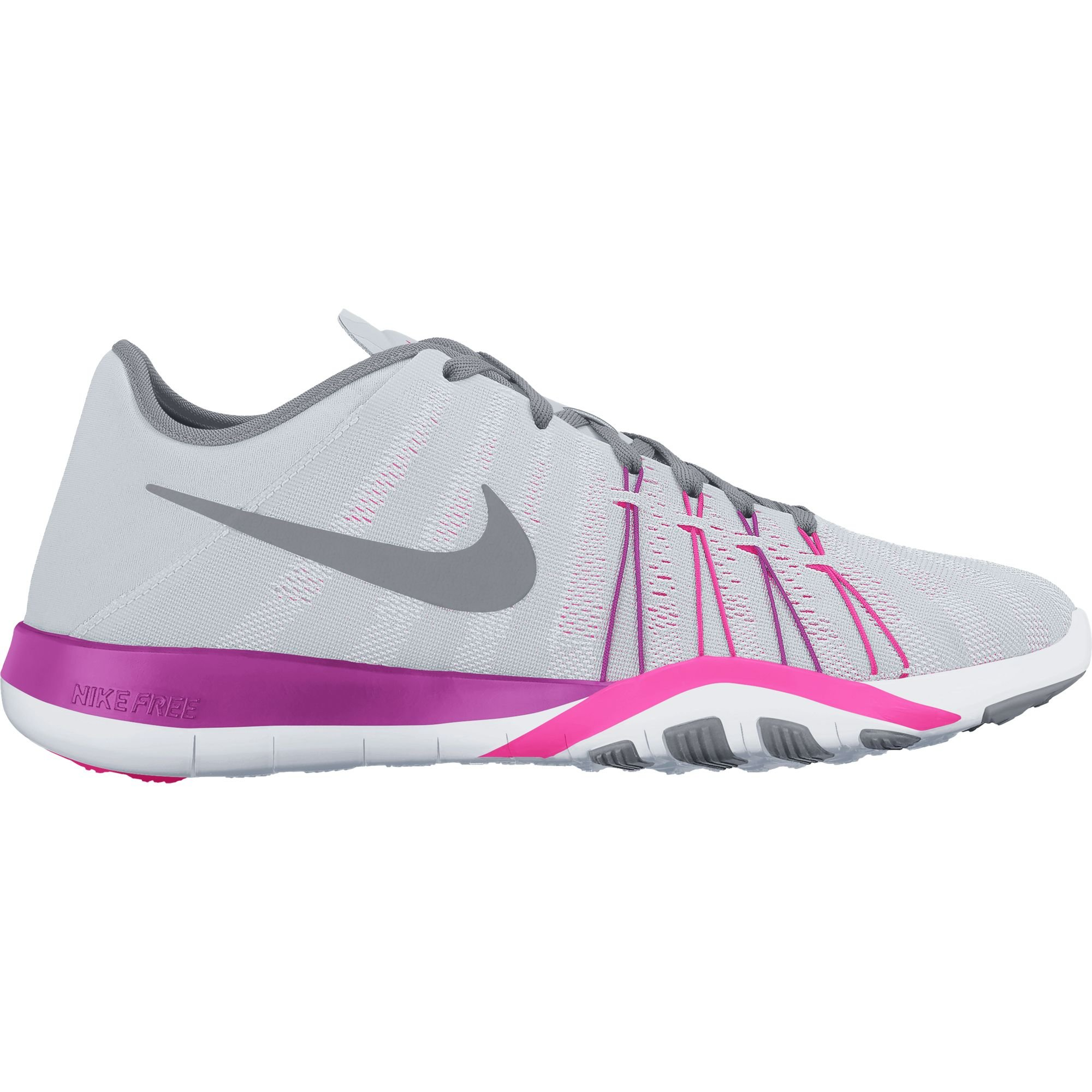 Nike Women's Free TR 6 Training Shoe Pure Platinum/Stealth/Pink Blast Size 11 M US