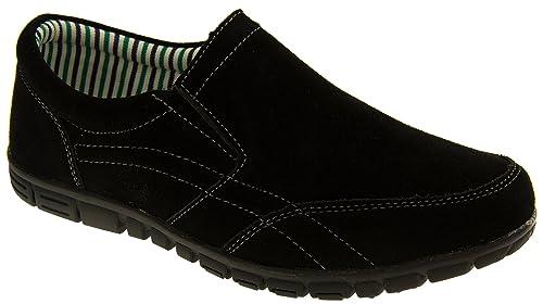 Coolers BF720 Mujer Gamuza Zapatillas de Deporte Mocasines Ocasionales: Amazon.es: Zapatos y complementos